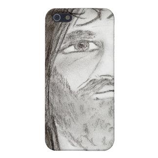 Jesus in der Holzkohle Hülle Fürs iPhone 5