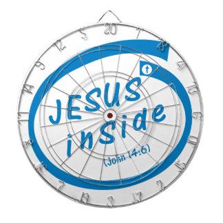 Jesus inside - Dartboard Dartscheibe