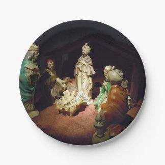 Jesus ist geboren pappteller