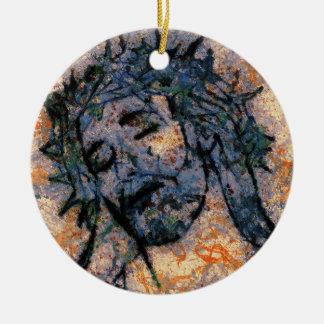 Jesus Keramik Ornament
