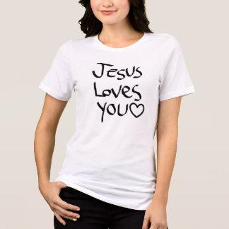 Jesus-Lieben Sie T-Shirt
