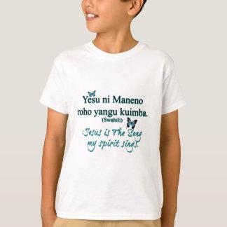 Jesus-Liedsuaheli transparent T-Shirt