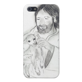 Jesus mit dem Lamm iPhone 5 Hüllen