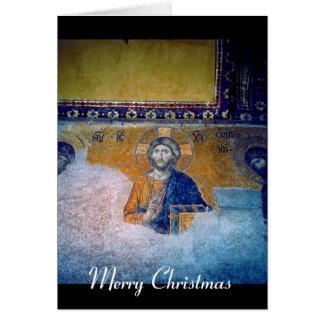 Jesus-Wandgemälde Karte
