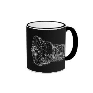 Jet-Motor Kaffeetasse