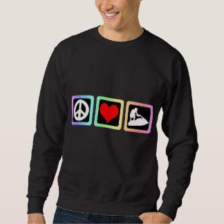 Jetskiing FriedensLiebe Sweatshirt
