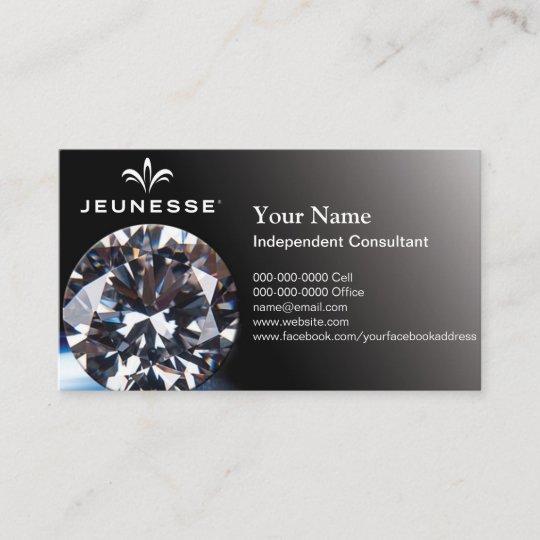 Jeunesse Oder Ihr Eigener Firmenlogodiamant Bc Visitenkarte