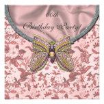 Jeweled Schmetterlings-Geburtstags-Party