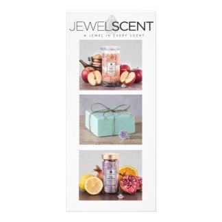JewelScent Gestell-Karte Bedruckte Werbekarten