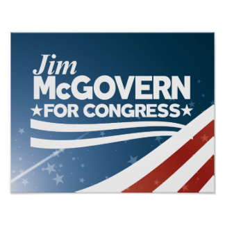 Jim McGovern Poster