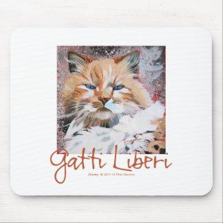 """Jimmy"" die Gatti Liberi Sammlung Mauspad"