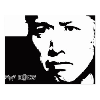 Jimmy-Mörder Postkarte