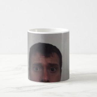 Jims Kopf der Überraschung Kaffeetasse