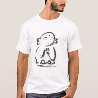 Jizo der Mönch-Bürsten-Anschlag-T - Shirt