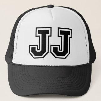 """""""JJ"""" Monogramm Truckerkappe"""