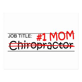 Job-Mamma-Chiropraktor Postkarte