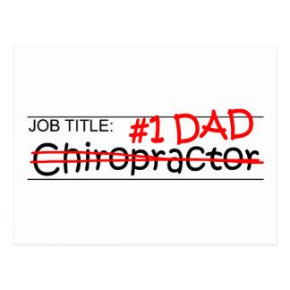 Job-Vati-Chiropraktor Postkarte