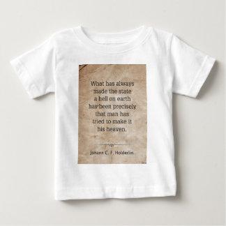 Johann Holderlin Baby T-shirt