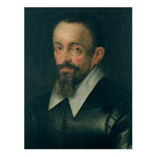 Johannes Kepler, Astronom, c.1612 Postkarte