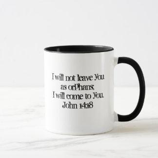 John-14:18 Tasse