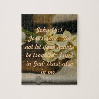 John-14:1bibel-Verspuzzlespiel Puzzle