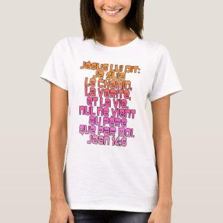 John-14:6 Franzosen T-Shirt