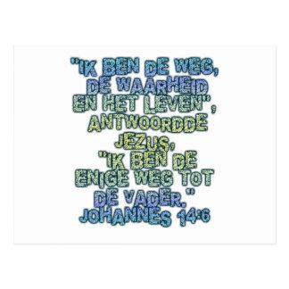 John-14:6 Holländer Postkarte