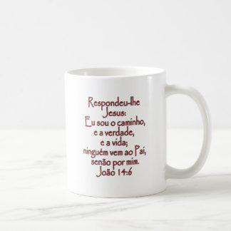 John-14:6 Portugiese Kaffeetasse