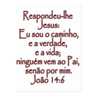 John-14:6 Portugiese Postkarte
