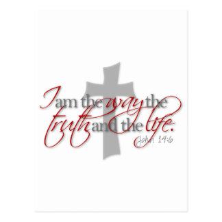 John-14:6 Postkarte