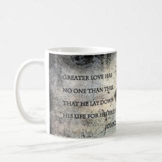 John-15:13 Scripture-Tassen Tasse
