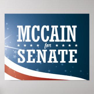 John McCain 2016 Poster