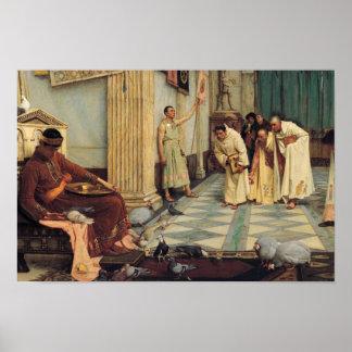 John William Waterhouse - die Lieblinge… Poster