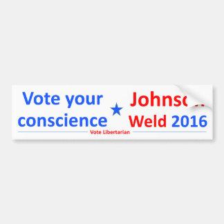 Johnson-Schweißung 2016 -- Wählen Sie Ihre Autoaufkleber