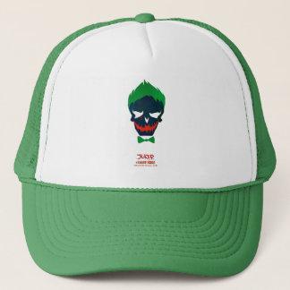 Joker-Kopf-Ikone der Selbstmord-Gruppe-  Truckerkappe