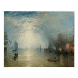Joseph Mallord William Turner - Keelmen Heben Poster