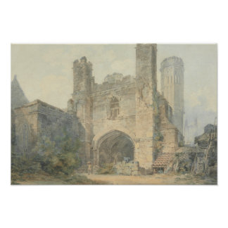 Joseph Mallord William Turner - St Augustine Poster