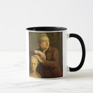 Joseph Nollekens (1737-1823) mit seinem Fehlschlag Tasse