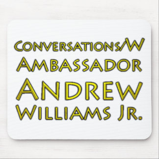 Jr. der Gesprächs-w/Ambassador Andrew Williams Mauspad