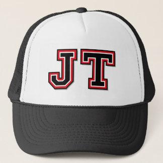 """Jt-"" Monogramm Truckerkappe"