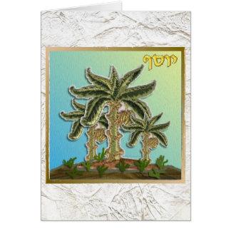 Judaika 12 Stämme Israel Joseph Grußkarte