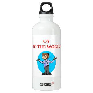jüdisch aluminiumwasserflasche