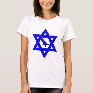 Jüdische Vogel-Mamma - besonders angefertigt T-Shirt