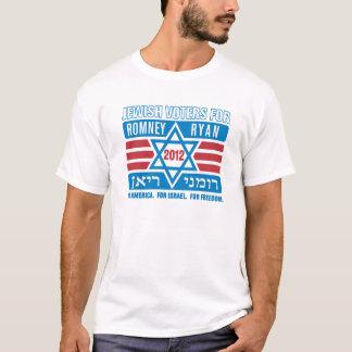 Jüdische Wähler für Romney-Ryan T-Shirt