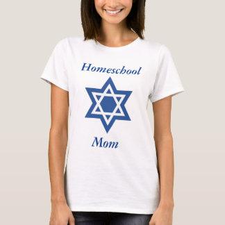Jüdischer Homeschool Mamma-Davidsstern T-Shirt