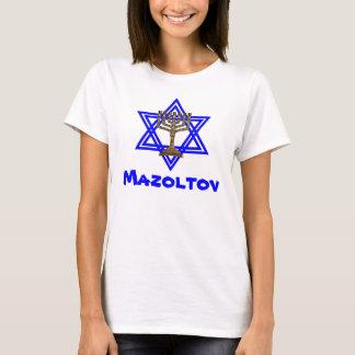 Jüdischer Mazoltov Damen-T - Shirt
