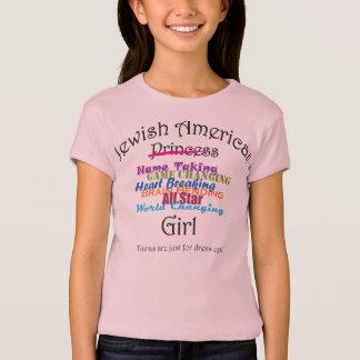 Jüdisches amerikanisches Mädchen T-Shirt
