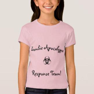 Jugendhemdzombie-Apokalypsewarteteam T-Shirt
