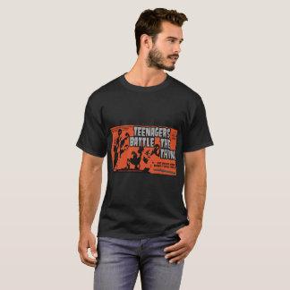 Jugendliche kämpfen die Sache T-Shirt