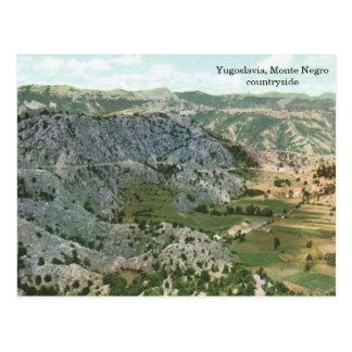 Jugoslawien, Monte Schwarzelandschaft Postkarte